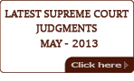 Latest Judgments 2013