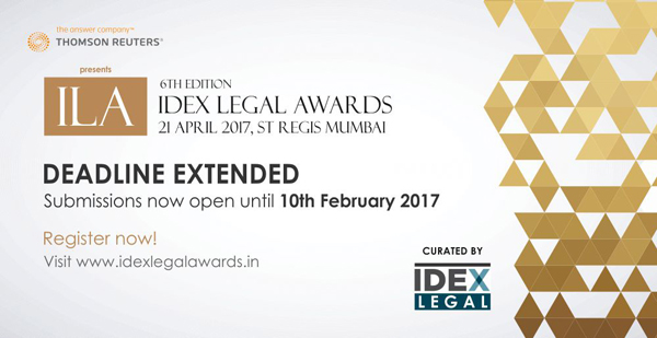 6th IDEX Legal Awards, 2017