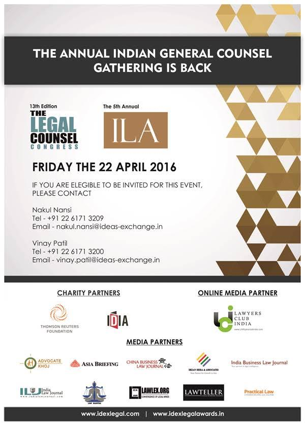 IDEX LEGAL Awards 2016