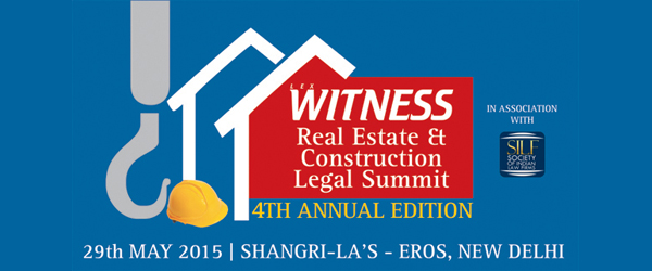 4th Annual Real Estate and Construction Legal Summit 2015