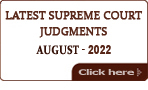 Latest Supreme Court of India Judgments 2017