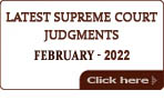 Latest Supreme Court of India Judgments 2021
