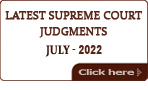 Latest Supreme Court of India Judgments 2019