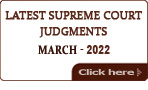 Latest Supreme Court of India Judgments 2020